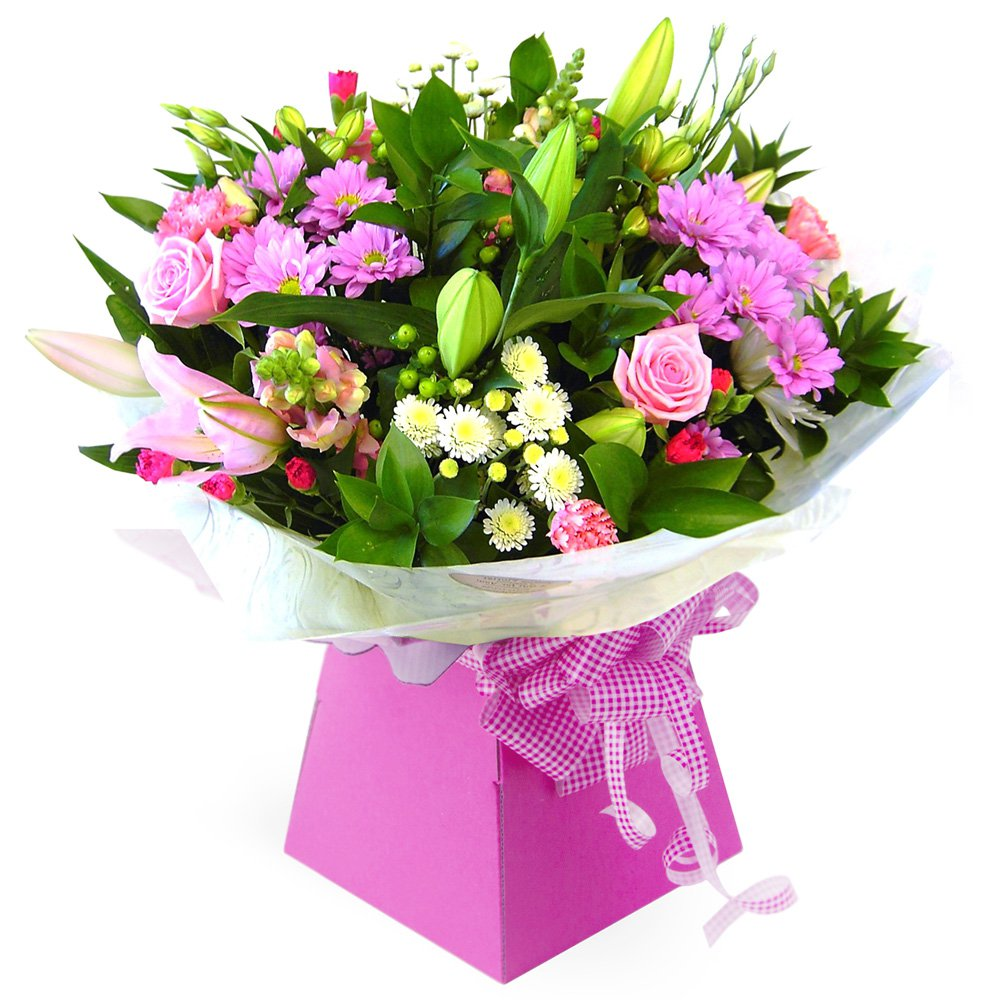 Florists in kingswood flower delivery by purple violets floristry birthday hand tied izmirmasajfo